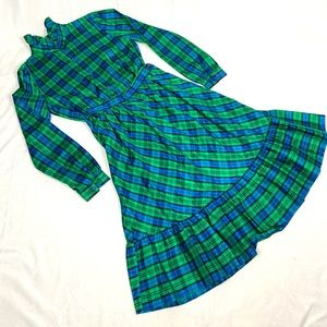 Vintage 70s Matching Blouse & Skirt